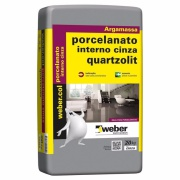 Argamassa Porcelanato Interior 20kg - Quartzolit