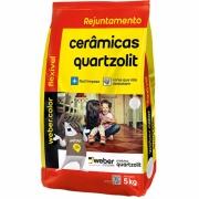 Imagem de Rejunte Flexível Weber Branco Saco/5kg - Quartzolit