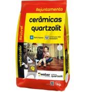 Rejunte Flexível Weber Preto Grafite Saco/1kg - Quartzolit