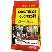 Rejunte Flexível Weber Caramelo Saco/5kg - Quartzolit