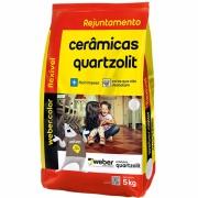 Rejunte Flexível Weber Cinza Outono Saco/5kg - Quartzolit
