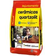 Rejunte Flexível Weber Cinza Platina Saco/1kg - Quartzolit