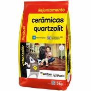 Rejunte Flexível Weber Preto Grafite Saco/5kg - Quartzolit