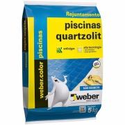 Imagem de Rejunte Piscina Weber Branco Saco/5kg - Quartzolit