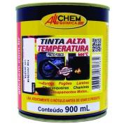 Tinta Alta Temperatura 600°C 0,90L Preto - Allchem Química