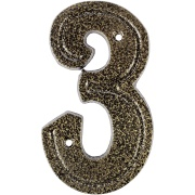 Número 3 Alumínio Bronze - Prates e Barbosa