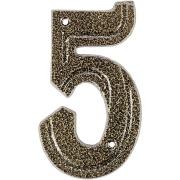 Número 5 Alumínio Bronze - Prates e Barbosa