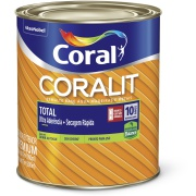 Imagem de Tinta Esmalte Sintético Brilhante Premium 0,9L - Branco Neve - Coralit Zero Coral