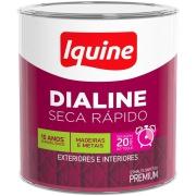Tinta Esmalte Sintético Alto brilho Premium 0,2L - Branco - Dialine Iquine