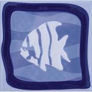 Revestimento de Parede Brilhante Unidade 15x15cm Azul Garopaba B - Eliane