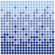 Revestimento de Parede Brilhante Unidade 15x15cm Azul Salinas - Eliane