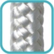 Corda Multiuso de Poliéster 10,0mm x 10,0m Branco - Cordas Erval