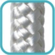 Imagem de Corda Multiuso de Poliéster 10,0mm x 10,0m Branco - Cordas Erval