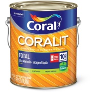 Tinta Esmalte Sintético Brilhante Premium 3,6L - Branco Neve - Coralit Zero Coral