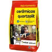 Rejunte Flexível Weber Palha Saco/1kg - Quartzolit