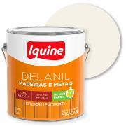 Tinta Esmalte Sintético Alto brilho Standard 3,6L - Branco Neve - Delanil Iquine