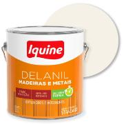 Imagem de Tinta Esmalte Sintético Alto brilho Standard 3,6L - Branco Neve - Delanil Iquine