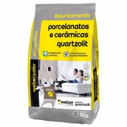 Rejunte Porcelanato Weber Corda Saco/5kg - Quartzolit