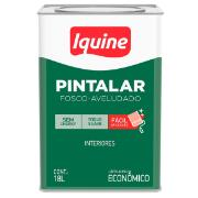 Imagem de Tinta Acrílica Fosco Econômica 18L - Pérola - Pintalar Iquine