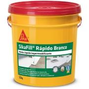 Impermeabilizante SikaFill Rápido Branco 13,6kg - Sika