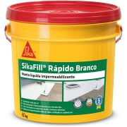 Impermeabilizante SikaFill Rápido Concreto Branco 15kg - Sika
