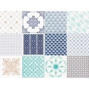 Imagem de Revestimento Provence Mix Tipo A 20x20cm Azul - Portobello