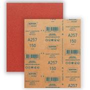 Imagem de Lixa para Massa e Madeira Gr. 150 22,500cm x 27,500cm - Norton