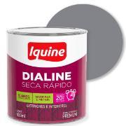 Tinta Esmalte Sintético Alto brilho Premium 0,9L - Alumínio - Dialine Iquine