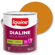 Tinta Esmalte Sintético Alto brilho Premium 3,6L - Amarelo Caterpillar - Dialine Iquine