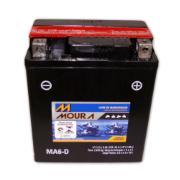 Imagem de Bateria Automotiva para Moto 12V 6Ah Polo Positivo Direito MMVA06-DI - Moura