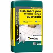 Imagem de Argamassa Piso/Piso Interno Cinza 20kg - Quartzolit