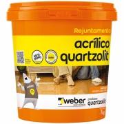Rejunte Acrílico Branco Balde/1kg - Quartzolit