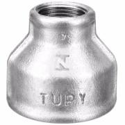 """Imagem de Luva de Redução Galvanizado Roscável 1"""" x 1/2"""" - Tupy"""