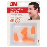 Protetor Auricular sem Cordão 6560 - 3M