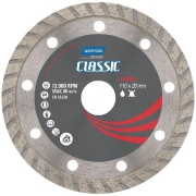 Disco de Corte Diamantado Turbo Classic 110 x 20,00mm - Norton