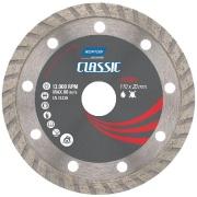 Imagem de Disco de Corte Diamantado Turbo Classic 110 x 20,00mm - Norton