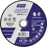 Disco para Corte 115x1,0x22,2 mm Nor Classic - Norton