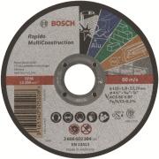 Imagem de Disco de Corte Rápido 115x1x22,23mm Multi Construction 2608602384- Bosch