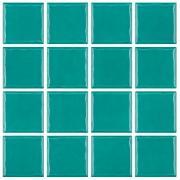 Imagem de Revestimento Prisma Jade Tipo A 7,5x7,5cm 2,00m² Turquesa - Portobello