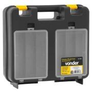 Caixa para Furadeira Plástico com Divisória Preta Vd7001 - Vonder