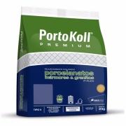 Imagem de Rejunte P-Flex Porcelanato Cinza Platina Saco/3kg - PortoKoll
