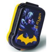 Pote Plástico Quadrado 17x13,1x4,2cm - Batman - Plasútil