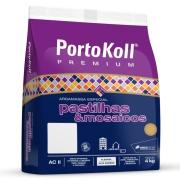 Imagem de Argamassa ACII Liga Pastilha Cinza Platina Sc4kg - PortoKoll