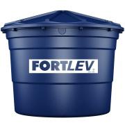 Caixa D´água de Polietileno com Tampa 5.000L Azul - Fortlev
