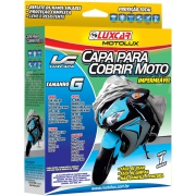 Imagem de Capa Protetora para Moto Tamanho G 1,20 x 1,70m - Luxcar