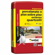 Imagem de Argamassa Porcelanato Piso/Piso Externo 20kg - Quartzolit