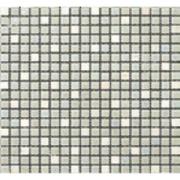 Pastilha de Vidro Brilhante 1,5x1,5cm Branco - ML009BC - Jolie
