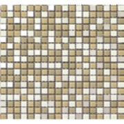 Pastilha de Vidro Brilhante 1,5x1,5cm Branco - ML014BC - Jolie