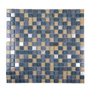 Pastilha de Vidro Brilhante 1,5x1,5cm Branco - ML015BC - Jolie