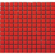 Imagem de Pastilha de Vidro Brilhante 2,3x2,3cm Vermelho - 4ML035-CA - Jolie
